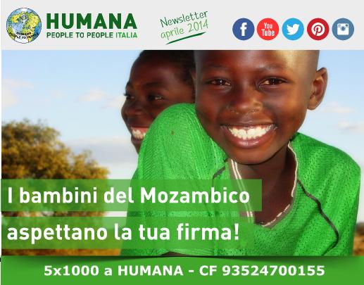 I bambini del Mozambico aspettano la tua firma