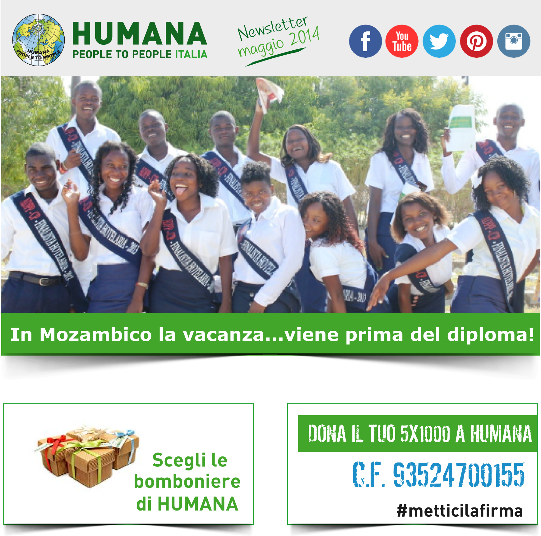 In Mozambico la vacanza viene prima del diploma!